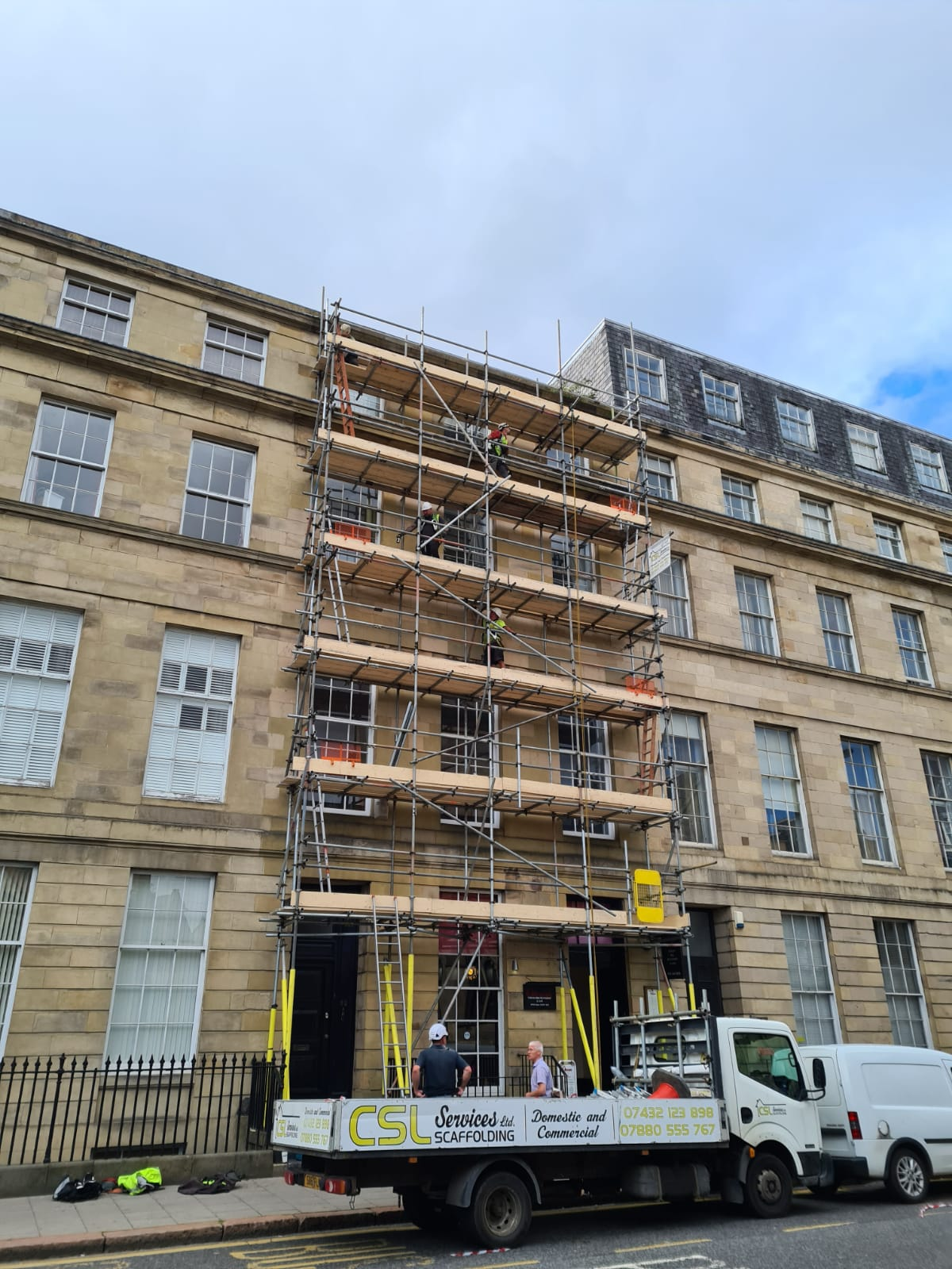 TG20 Scaffold with Internal Ladders